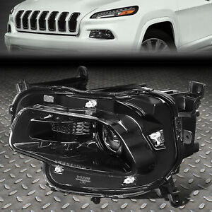 FOR 14-18 JEEP CHEROKEE LEFT DRIVER SIDE OE STYLE PROJECTOR HEADLIGHT CH2502249