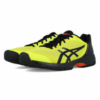 Asics Mens Gel-Court Speed Tennis Shoes - Black Yellow Sports Breathable