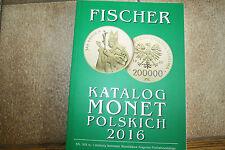 FISCHER - KATALOG MONET POLSKICH 2016 - absolut NEUWERTIG