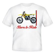 SUZUKI RMZ 450 ispirato Motocross-NUOVO Amazing Graphic T-Shirt S-M-L-XL - XXL