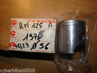 SUZUKI RM 125 - 1975 / 1978 - PISTON D ORIGINE NU COTE 0,25 - 12110-41750