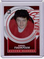ERROL THOMPSON 12/13 ITG Motown Madness Red Base Card #135 Detroit Red Wings
