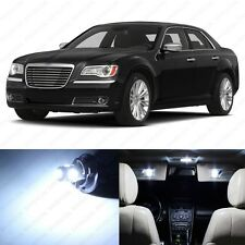 13 x Xenon White LED Interior Light Package For 2011- 2014 Chrysler 300 300C