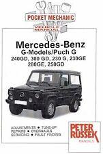 Mercedes Benz G Class / Puch G all models 1979 on