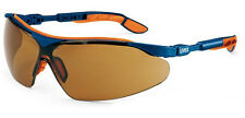 UVEX I-VO 9160068 Safety Glasses / Spectacles - Brown UV Lens