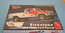 Super Stones Firestone 1978 Ford 4X4 Pickup 1:25 scale AMT Retro Round 2 Models
