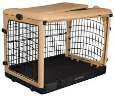 """Pet Gear The Other Door Steel Crate For Cats And Dogs 42""""-Tan/Black PG5942TN New"""