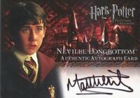 Harry Potter and the Prisoner of Azkaban Matthew Lewis Autograph Card