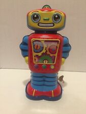 Schylling Cosmo Wind up Tin Robot 13296W