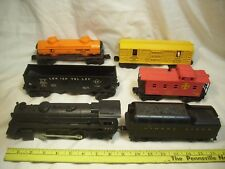 Vintage Lionel RR Train Set-#242 Scout Loco#6473 HorseTrans.#6465 Tank#6076 Hop.