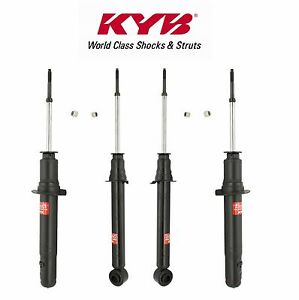 For Mitsubishi Chrysler FWD Pair Set of 2 Rear Shocks Absorber KYB AGX 741019