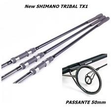 KIT 3 CANNE NOVITA'  SHIMANO CARP FISHING Tribal TX-1 12''  3LB  SPETTACOLARE