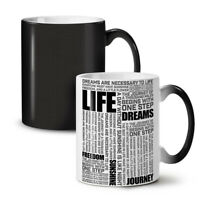Life Freedom Dream NEW Colour Changing Tea Coffee Mug 11 oz | Wellcoda