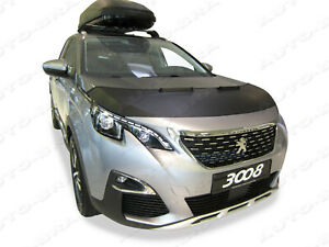 CAR HOOD BRA fit Peugeot 3008 from 2017  NOSE FRONT END MASK TUNING