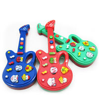 FD1000 Electronic Guitar Toy Nursery Rhyme Music Children Baby Kids Random~1pc A