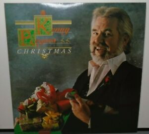 KENNY ROGERS CHRISTMAS (VG+) LOO-51115 LP VINYL RECORD