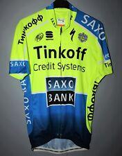 TINKOFF CYCLING SAXO BANK JERSEY SHIRT SPORTFUL RUSSIA SIZE M