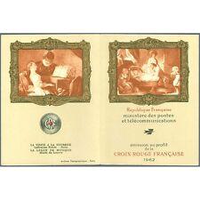 Carnet Croix-Rouge CR2011 - Carnet Croix Rouge  - 1962