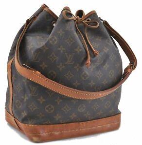 Authentic Louis Vuitton Monogram Noe Shoulder Bag M42224 LV C2982