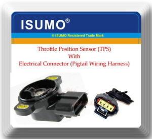 Throttle Position Sensor (TPS) W/Connector Fits:Mazda 929 MX3  MX5 Miata Protege