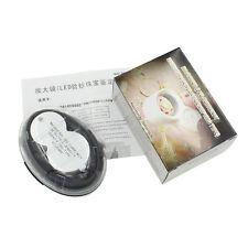 Pocket 40X Power Jewelery Magnifier Magnifying Ring LED Eye Loupe Tool