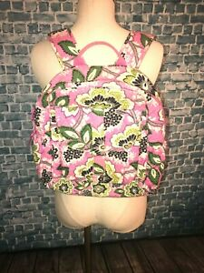 VERA BRADLEY PRICILLA PINK LARGE BACKPACK