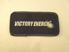 Vintage Victory Energy Company Logo Iron On Patch