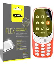 3x Nokia 3310 Screen Protector Protective Film covers 100% dipos Flex