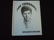 Pre-Thoughts Mentalism by Steve Shaw Softcover 1999