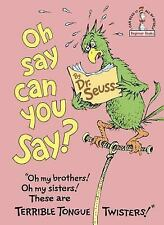Beginner Books: Oh, Say Can You Say? by Dr. Seuss (1979, Hardcover)