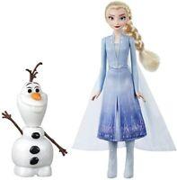 Disney Frozen 2 Elsa & Olaf Hablar & Brillo Control Remoto Muñecas Muñeca Set De