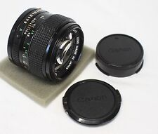 Good++ Canon New FD 50mm F/1.2 MF Lens Made In Japan