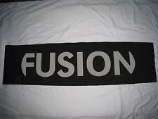 Elan Fusion Logo Promotional Ski Sign 50 1/2 X 13 inches