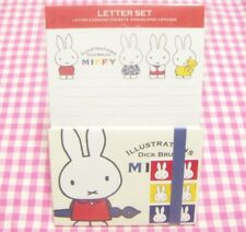 SQUARE / Dick Bruna Miffy Letter Set / Made in Japan Stationery  Rabbit