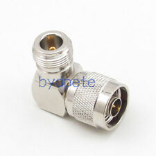 N male plug to N female jack right angle 90 degree RF Coaxial Connector Adapter