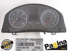 QUADRO STRUMENTI CONTACHILOMETRI VW GOLF V°Ser. 1.9 TDI 2005 - 1K0920851B