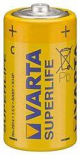 Varta 2x Varta Superlife R14/C (bebé) (2014) cloruro de zinc batería de 1.5 V (42336)