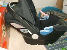 SILVER CROSS SIMPLICITY INFANT CARRIER CAR SEAT & RAIN COVER WITH INSTRUCTIONS