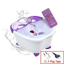 NADY Happy Body Bath Foot Spa BM-201 Bubble Vibration Remote Control 220V