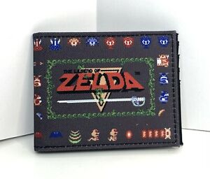 The Legend of Zelda Bifold Wallet Nintendo NES NWOT 🗡