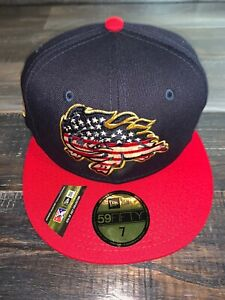 New Era MiLB Florida Fire Frogs 4th Of July Fitted 59FIFTY Baseball Cap 7 NWT