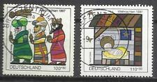 5671-ALEMANIA SERIE COMPLETA NAVIDADES 1997, VALOR 4,75€.