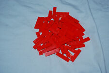 C Lego 1 x 4 Red Tile Lot 79 2431 8144 8157 8143 6752 10196 7938