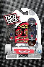 New 2018 RARE Tech Deck SANTA CRUZ Skateboards Fingerboard SERIES 6 BLACK WOLF