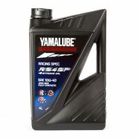 Yamaha Yamalube RS4GP 10W40 Fully Synthetic Motorcycle Racing Oil - 4 Litre
