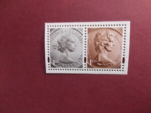 GB 2012 Commemorative Stamps~Diamond Jubilee~Coinage~Unmounted Mint Pair~UK
