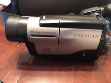 Video camcorder Proscan With Battery And Charger Instruction Manual, Accessories