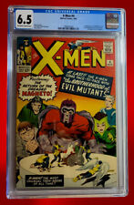 X-MEN #4 CGC 6.5 1ST APPEARENCE OF SCARLET WITCH, QUICK SILVER, TOAD +