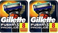 Gillette Fusion Proglide Rasierklingen 2x 8er Pack 16 Stück Neu