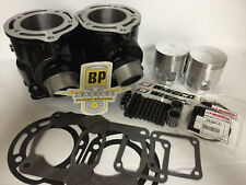 "87-06 Banshee 66 mil .080"" 370 Big Bore Cylinders Wiseco Top End Rebuild kit"